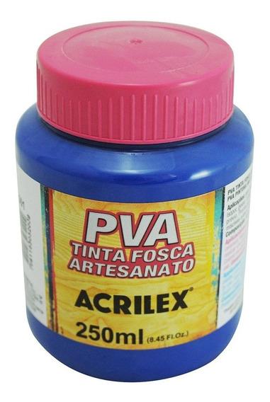 Tinta Pva Fosca Para Artesanato 250ml - Acrilex
