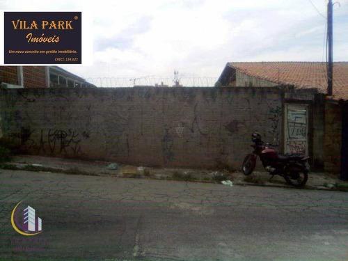 Imagem 1 de 7 de Terreno À Venda, 253 M² Por R$ 380.000,00 - Jardim D Abril - Osasco/sp - Te0150
