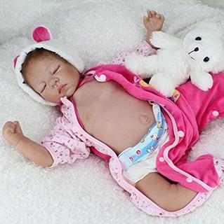Npkdoll Reborn Baby Doll Vinilo De Silicona Suave 22