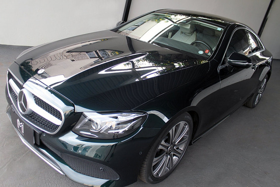 Mercedes Benz E 300 Coupe 2.0 Turbo Verde 2017