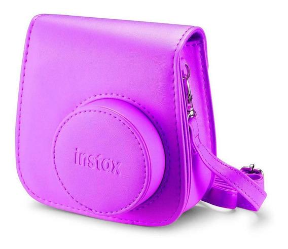 Bolsa Para Câmera Instax Mini Groovy - Roxo Açaí