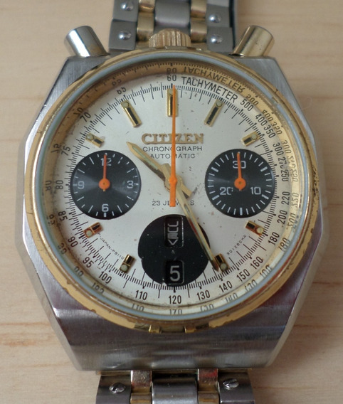 Citizen Relojesgovantesm Customizado Diablito Cronógrafo Ace