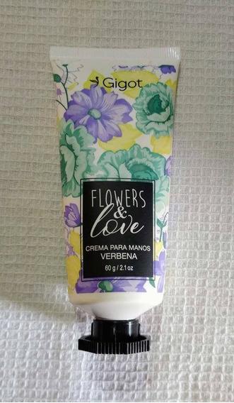 Crema Para Manos Verbena Flowers Y Love