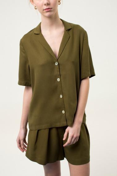 Camisa Pictor Verde Las Pepas
