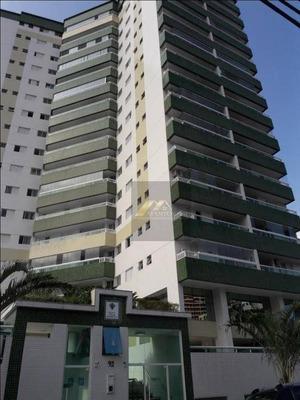 Apartamento Com 2 Dormitórios, Andar Alto, Vista Livre, Poucos Metros Da Praia De Guilhermina - Praia Grande/sp - Ap1418