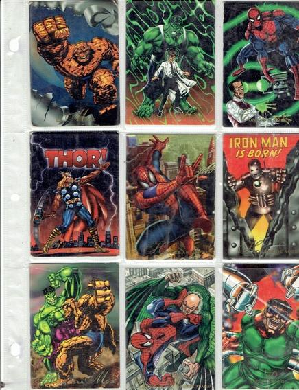 Pepsi Cards Marvel Año 1994 Coleccion Completa 113 Tarjetas