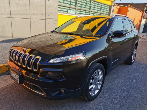 Jeep Cherokee Limited 2014, 4 Cilindros Muy Economica