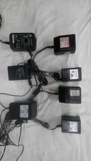 Lote 7 Fuentes Alimentación Power Adaptor Usados Liquido!!!!