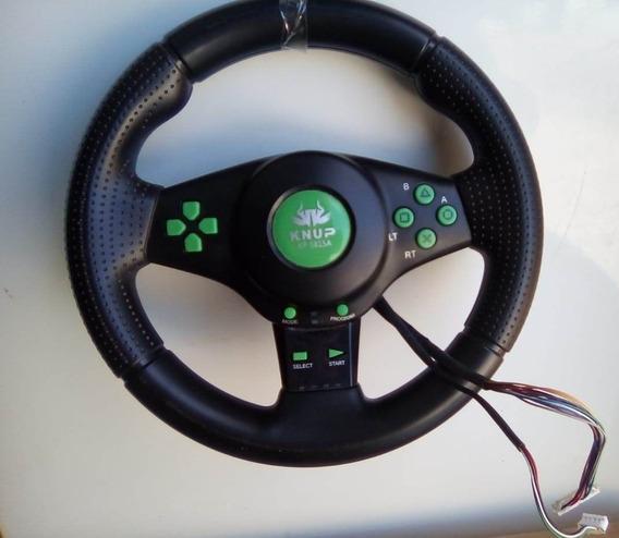 Volante Steering Wheel Para Pc, Xbox 360, Ps2 , Ps3, Ps4