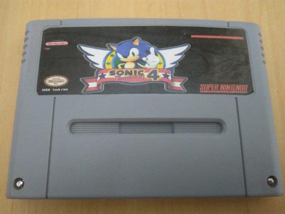 Sonic The Hedgehog Repro Placa Original Inglês Snes