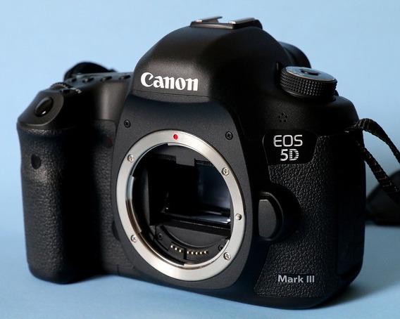 Canon Eos 5d Mark Iii Corpo Caixa Novíssima Desconto A Vista