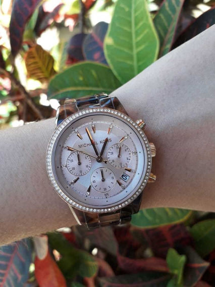 Relógio Michael Kors Rose Mk6280/4tn