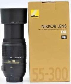 Lente Nikon Af-s Nikkor 55-300mm F/4.5-5.6g Ed Vr