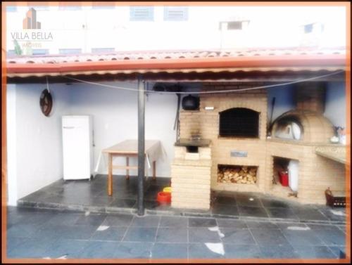 Imagem 1 de 12 de Casa Com 2 Dormitórios À Venda, 230 M² Por R$ 730.000,00 - Vila Bastos - Santo André/sp - Ca0424