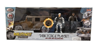 Military Force 2 Figuras Playset Militar C/accesorios 71312