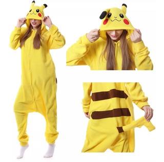 Pijama Pokemon Pikachu Cosplay Fantasia Infantil Promoção