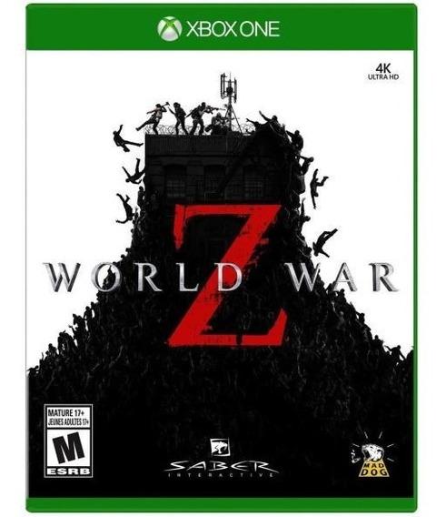 World War Z Xbox One Mídia Digital + 01 Jogo Brinde