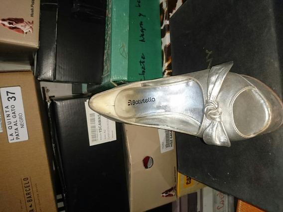 Zapatos De Fiesta Batistella Cuero