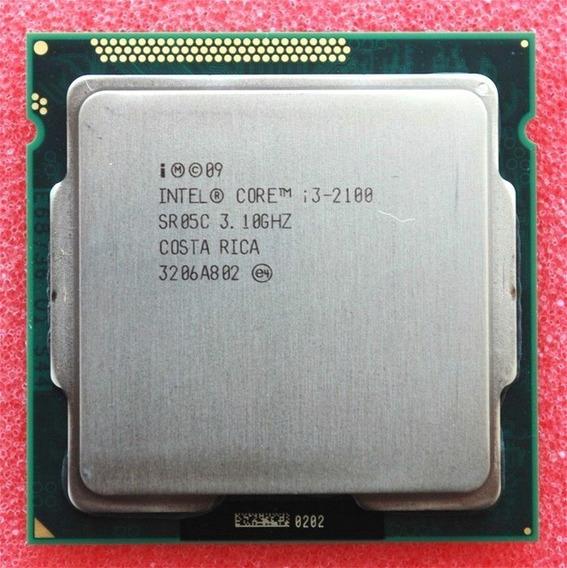 Processador Intel Core I3 2100 Lga 1155 - Oem - Usado