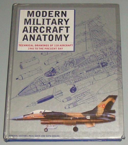 Avião - Livro Modern Military Aircraft Anatomy ( Inglês )