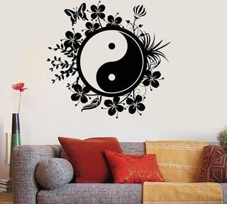Vinil Decorativo Yin Yang