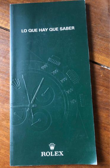 Manual Rólex Original