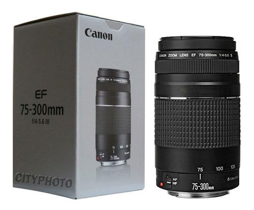 Lente Canon Ef 75-300 Caja Nuevo