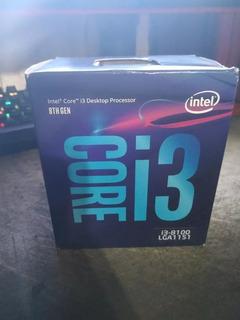 Intel I3 8100 3,6ghz 4 Nucleos - Socket 1151