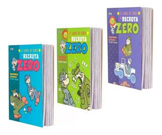 Hq Recruta Zero O Livro De Ouro Capa Normal 3 Volumes
