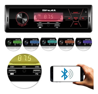 Mp3 Rádio Uber 2 Usb Recarregada Celular Bluetooth Shutt