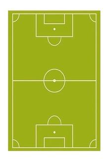 Alfombra Infantil Cancha Futbol 140x200
