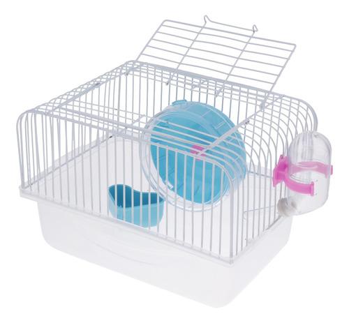 Imagen 1 de 6 de Hamster Jerbo Jaula Para Ratones Casa Parque Infantil