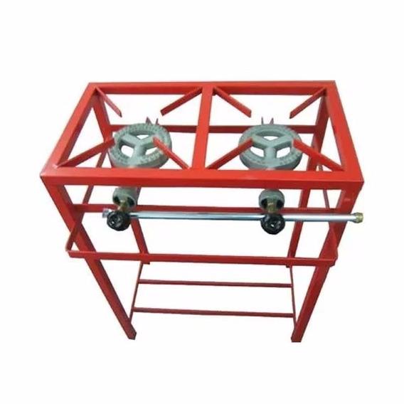 Anafe Estructural Foco 2 Hornallas 20000 Kcal 60x30cm
