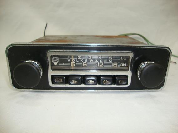 Antigo Radio Am Blaupunkt Volkswagen Fusca 1973