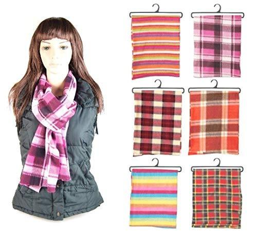 Wholesale Lote De 12 Bufandas Para Mujer, Surtidas Perfecta