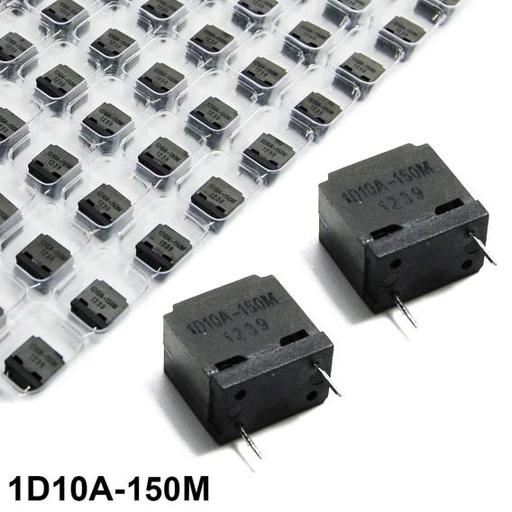 Kit 45 Indutores Fixo Amplificador Áudio Classe D 1d10a-150m
