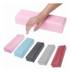 Almofada Para Manicure Apoio Das Mãos Lavável - Suporte Mãos
