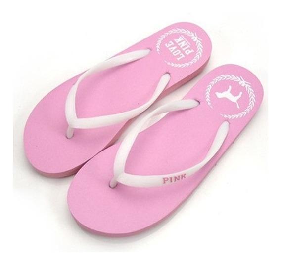 10 Sandalias Pink Copia Victoria Secrets