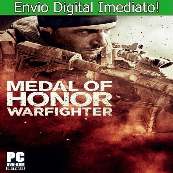 Medal Of Honor Warfighter Pc Hd Português Envio Imediato.