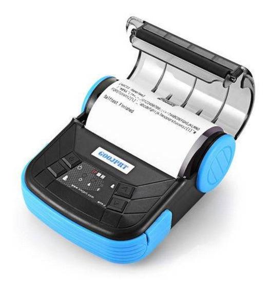 Mini Impressora Portátil 80mm Bluetooth Android Ios Com Capa