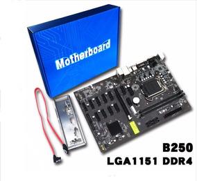 Placa Mae Motherboard B250 Para 12 Pci - Mineração