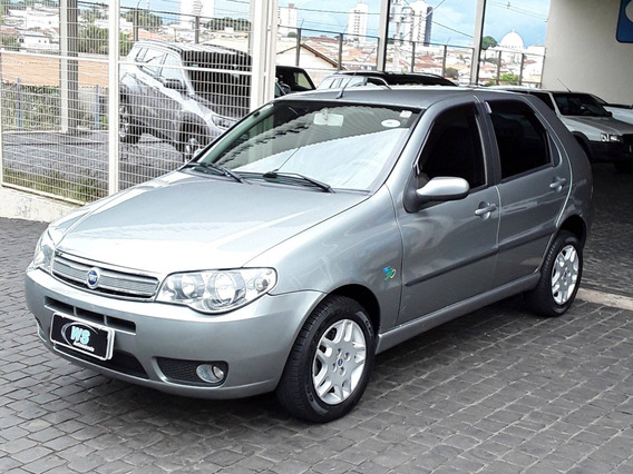 Fiat Palio Elx 1.4 Cinza 2007