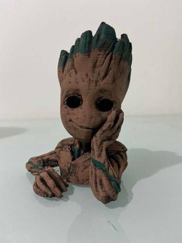 Maceta De Baby Groot Decoración De Interior