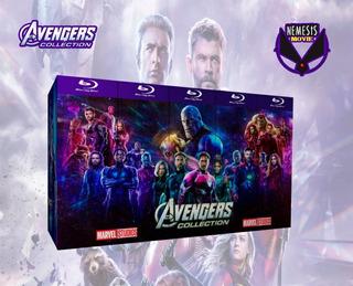 Bluray Avengers - Peliculas Colección Marvel - Envio Gratis