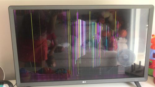 Tv LG 32lk615bpsb- Display Quebrado