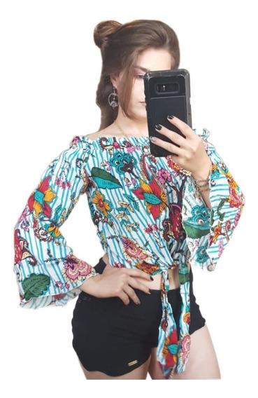 Blusas Moda Instagran 2018 Blogueiras Ciganinhas Promoção