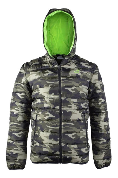 Campera Topper Best Mns Camuflada