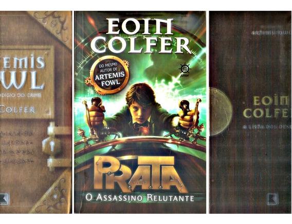 Lote 3 Livros Eoin Colfer Artemis Fowl Prata Menino Lista.