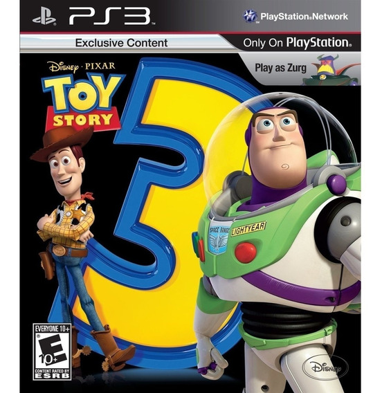 Toy Story 3 The Video Game Ps3 Midia Digital Original Play 3