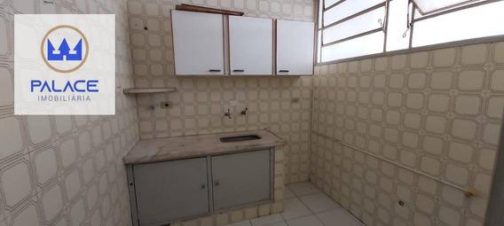 Apartamento Com 1 Dormitório À Venda, 41 M² Por R$ 75.000 - Centro - Piracicaba/sp - Ap0087